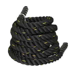 "ZENSTYLE 1.5"" Poly Dacron 30ft Battle Rope Workout Training Undulation Rope Fitness Rope Exercise"