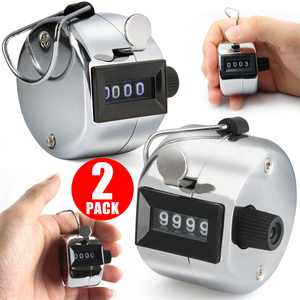 TSV Golf Hand Held Tally 4-Digit Number Clicker Sport Counter Counting Recorder