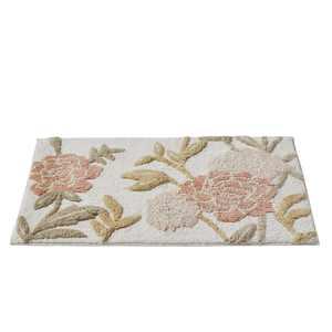 """SKL Home Misty Floral Bath Rug, Pink, 20"""" x 30"""""""