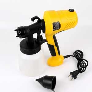 Mighty Rock Paint Sprayer 400 Watt Power Home Spray Gun for Paint Stain Crafts Home Improvement Hand-Held Light Weight, 800 ml Paint Container