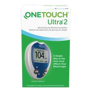 OneTouch Ultra 2 Blood Glucose Meter - Blood Sugar Monitor