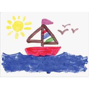 "Pacon Finger Painting Paper, 16"" x 22"", 100/Pkg."