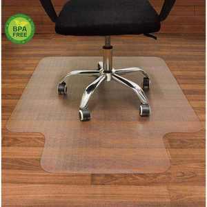 """48"""" x 36"""" Office Chair mat for Hardwood Floor , PVC Non-slip Transparent Floor Mat For Computer Desk"""