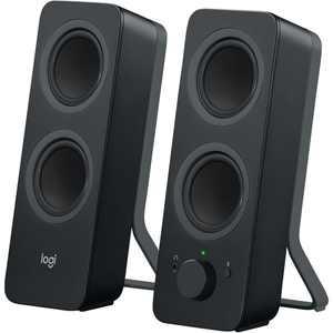 Logitech Z207 2.0 Stereo Computer Speakers, Black