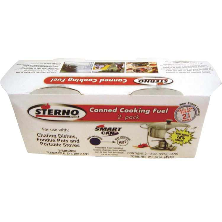 Sterno 2 Pack 2.25hr Canned Heat 20606
