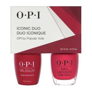 OPI Iconic GC/NL Duo  - GelColor Soak-Off Gel Lacquer + Nail Lacquer GCW63 / NLW63 OPI by Popular Vote