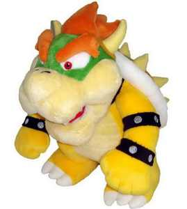 "Plush - Nintendo - Super Mario - Bowser 10"" Soft Doll New Toys Gifts 1423"