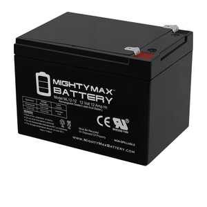 """""""Mighty Max 12V 12AH Replacement Battery for Pride Mobility Go Go Scooter"""""""