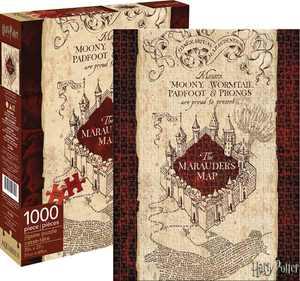 Aquarius - Harry Potter - Marauders Map - 1000 Piece Jigsaw Puzzle