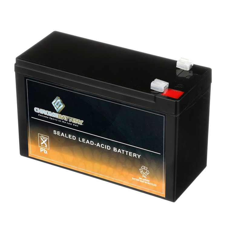 12v 7ah sla battery replaces razor ground force toy or riding car
