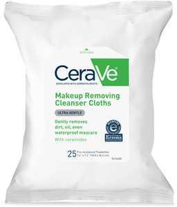 CeraVe Makeup Removing Cleanser Cloths 25 ea (Pack of 2)