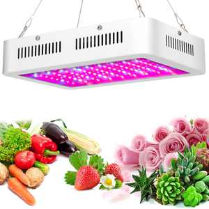 WALFRONT LED Grow Light, 1200W Full Spectrum IR UV Plant Panel Lights Lamp Plants Vegetables Flowers Fruits Indoor Greenhouse Hydroponic W/Rope Hanger