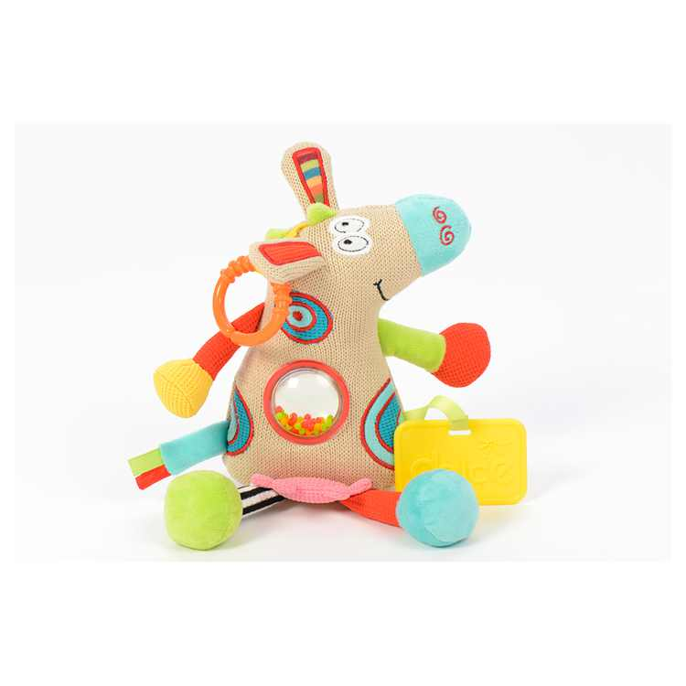 Dolce Calf Plush Interactive Stuffed Animal Stroller Plush Toy