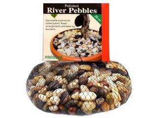 Panacea Products PAN71015 28 Oz. Polished River Pebbles Mixed Colors, Pack Of 3