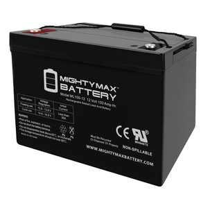 """Mighty Max 12V 100Ah SLA AGM Battery for off Grid Solar Panels"""
