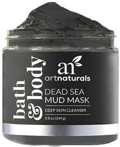 ArtNaturals Dead Sea Mud Mask Deep Cleanser for Face, Body & Hair (8.8 Oz / 249g)