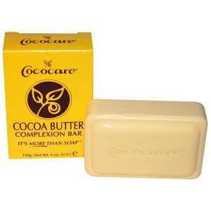 Cococare Cocoa Butter Complexion Bar Soap 4 OZ