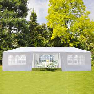 """UBesGoo Party Wedding Tent Outdoor Camping Gazebo Canopy with 7 Sidewalls Canopy (10"""" x 30"""")"""