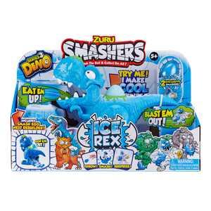 Smashers Dino Ice Age Ice Rex Playset by Zuru