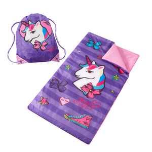 Nickelodeon Purple Unicorn JoJo Siaw Slumber Bags, Washable