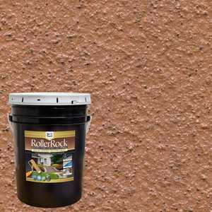 DAICH RollerRock 5 Gal. Self-Priming Cinnamon Exterior Concrete Coating