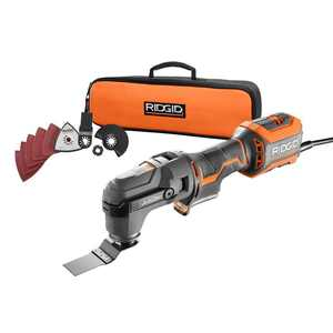 RIDGID 4 Amp Corded JobMax Multi-Tool with Tool-Free Head