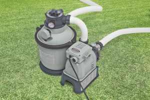 Intex Krystal Klear Sand Filter Pump for Swimming Pools, 1,200 GPH