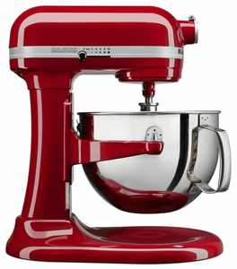 KitchenAid Professional 600 Stand Mixer 6 Quart 10-Speed Empire Red (Certified Refurbished) – RKP26M1XER