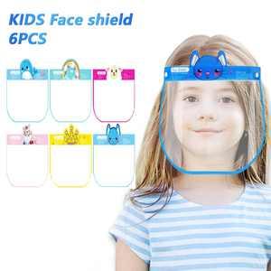 Hotwon Kids Face Shield Protector Mask Kitchen Oil Splash Anti-smoke Protective Mask