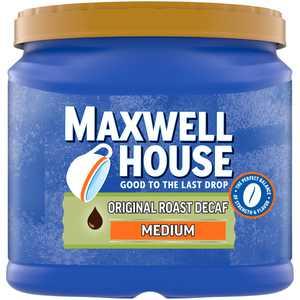 Maxwell House The Original Roast Decaf Medium Roast Ground Coffee, 29.3 oz Canister