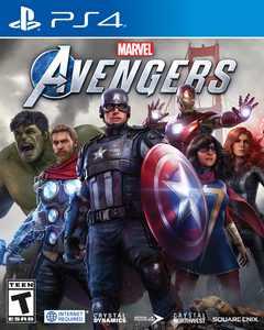 Walmart Exclusive: Marvel Avengers, Square Enix, PlayStation 4, 662248923284