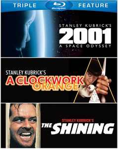 2001: A Space Odyssey / a Clockwork Orange / The Shining (Blu-ray)
