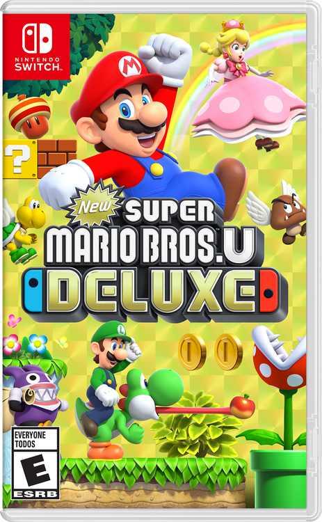 Super Mario Bros U: Deluxe - Nintendo Switch