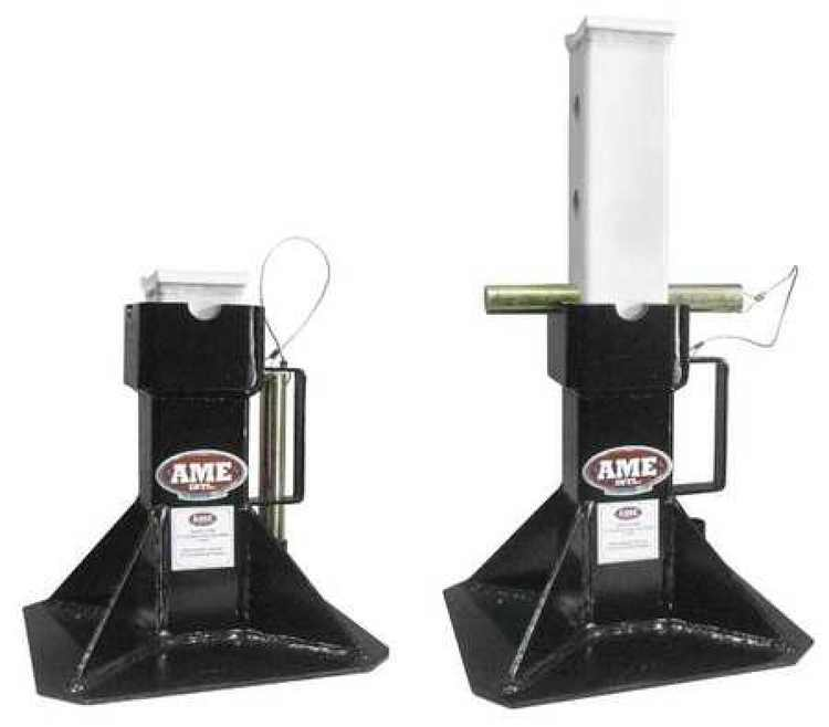 TITAN 14400 Jack Stands,22 Ton Cap,PR