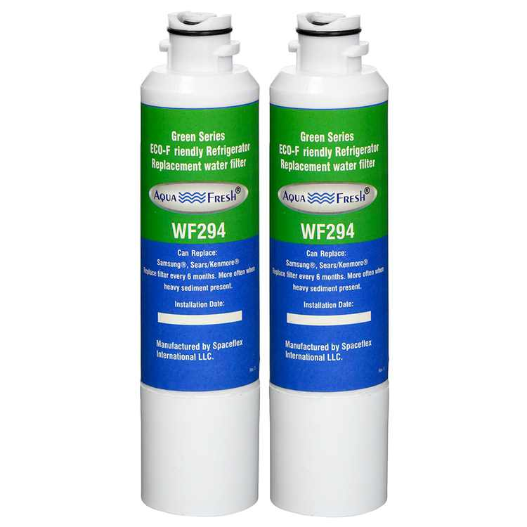 Replacement Water Filter For Samsung RF263BEAESG/AA Refrigerator Water Filter by Aqua Fresh (2 Pack)