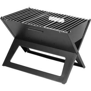 Fire Sense Black Notebook Charcoal Grill