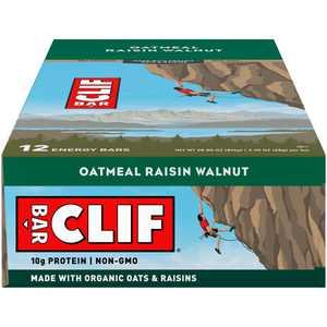 CLIF Bar Oatmeal Raisin Walnut Energy Bars 12-2.4 oz. Bars