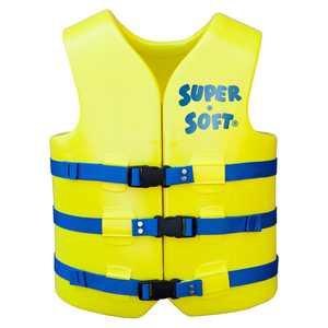 TRC Recreation Adult Super Soft USCG Vest Large - Yellow