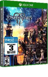 Walmart Exclusive: Kingdom Hearts 3, Square Enix, Xbox One, 662248921921