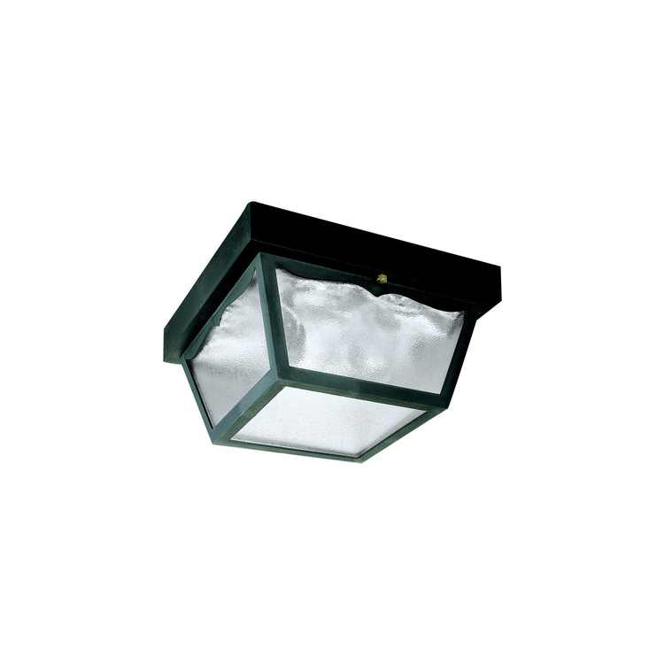 Westinghouse 66823000 2 Light Black Exterior Hi-Impact Polypropylene Porch Light