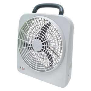 Roadpro 12v RP8000 10 Inch Indoor/outdoor Fan Dual Power