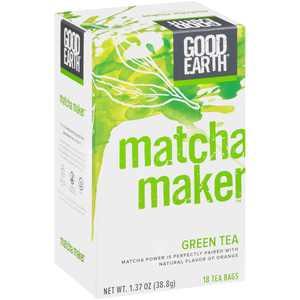 Good Earth, Matcha Maker, Green Tea, Tea Bags, 18 ct.