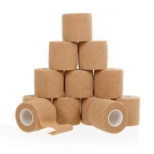 "California Home Goods Self Adherent Cohesive Wrap Bandages 2"", 12-Pack"