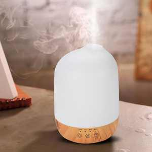 WALFRONT Super QuiteOil Aroma Diffuser, Humidifier,300ml Super Quite Aromatherapy Humidifier Oil Aroma Diffuser with Colorful Lights US Plug