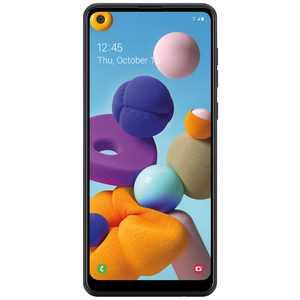 Total Wireless Samsung Galaxy A21, 32GB Black - Prepaid Smartphone