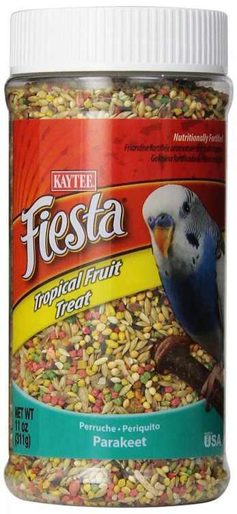 11 oz Kaytee Fiesta Tropical Fruit Treat Parakeet