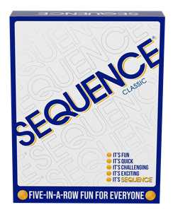 Jax SEQUENCE Game - Original SEQUENCE Game with Folding Board, Cards and Chips