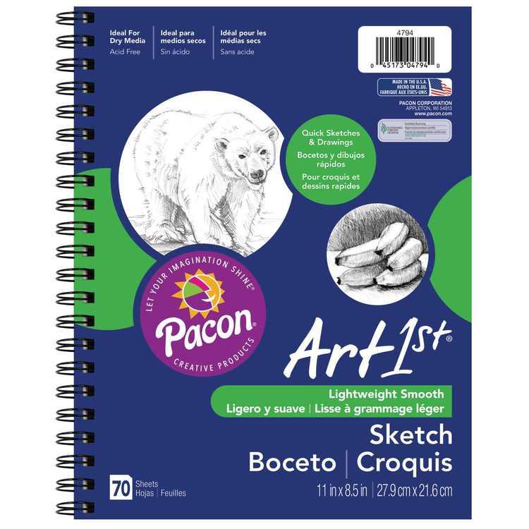 "Pacon Art1st 8.5"" x 11"" Sketch Paper (70 Sheets)"