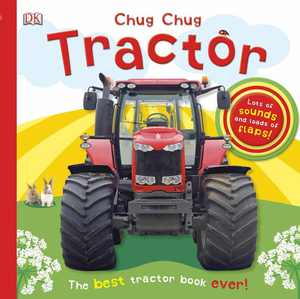Chug, Chug Tractor (Board Book)
