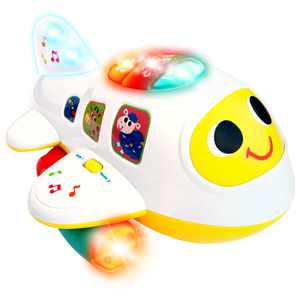 CifToys Baby Toys Electronic Airplane Toys with Lights & Music Play Vehicles
